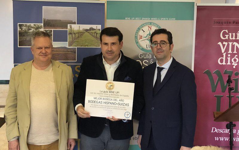 H+S recibe el premio a la Mejor bodega del Año de la guía WineUp 2018