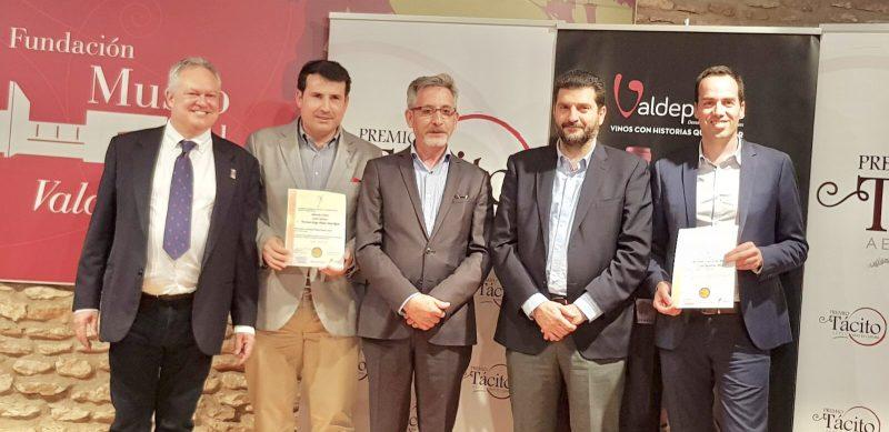 La Asociación Española de Periodistas y Escritores del Vino premia a H+S
