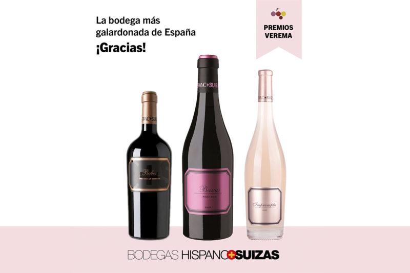 H+S, bodega más galardonada de España para Verema