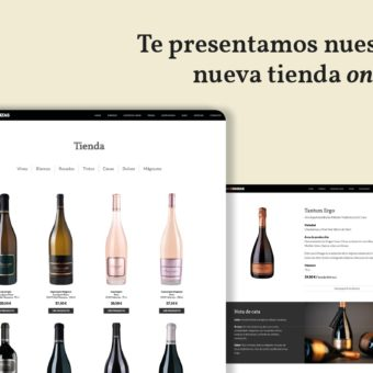 Nueva tienda online con más información de variedades, parcelas y maridajes