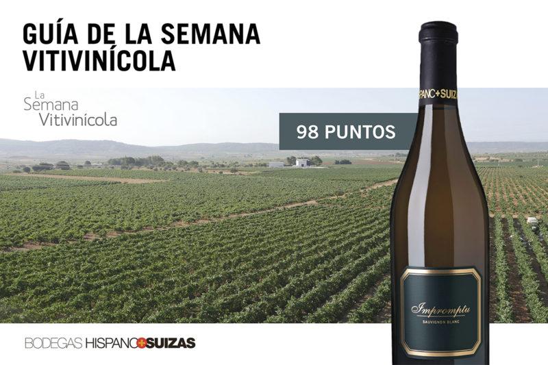Impromptu 2018, el mejor vino blanco de España para la Guía de la SEVI 2019