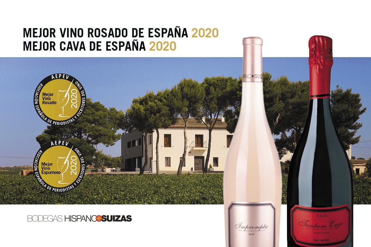 Tantum Ergo Rosé, premiado como Mejor Cava de España para la AEPEV