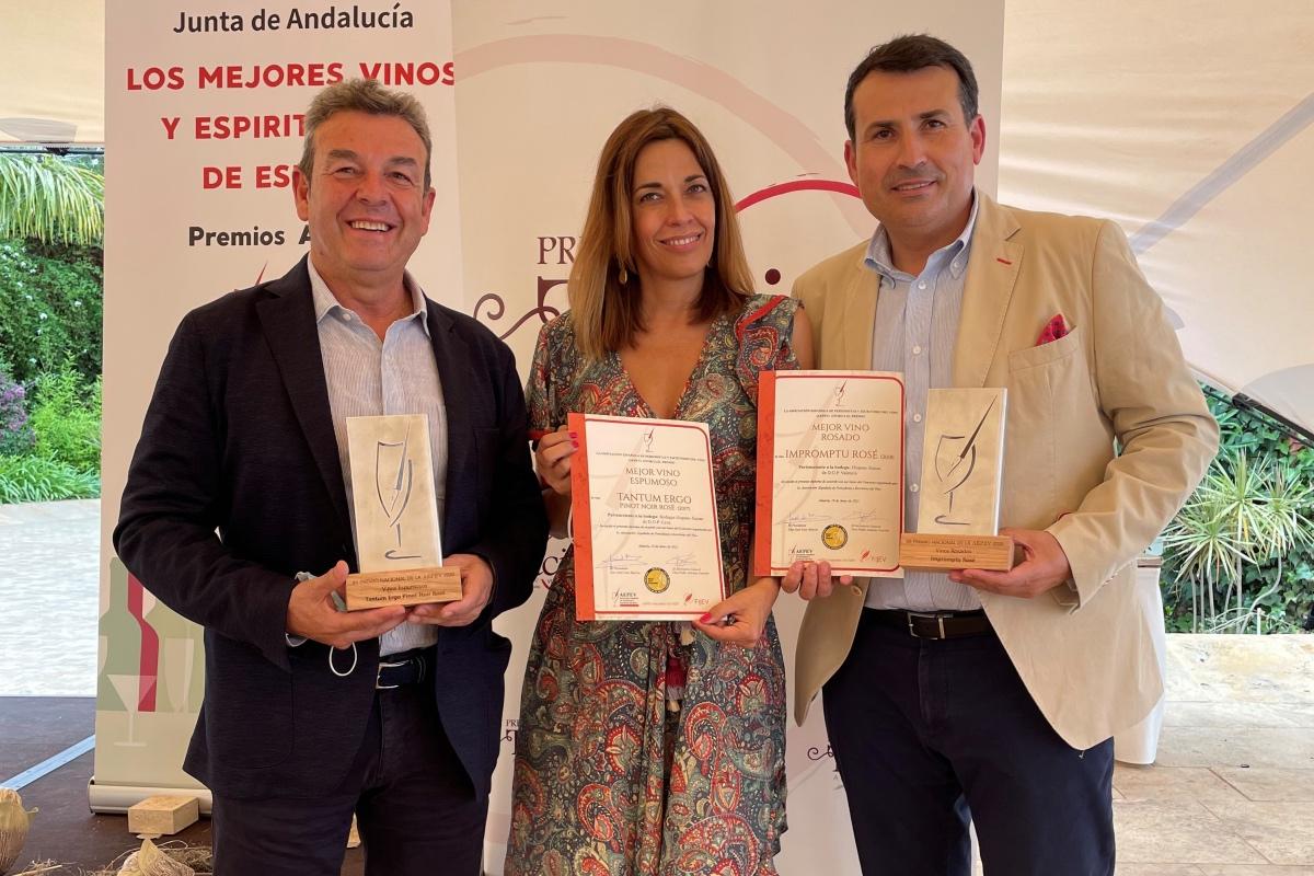 Tantum Ergo Rosé, premiado como Mejor Cava de España